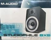 M AUDIO Speakers/Subwoofer BX5 STUDIO REFERENCE MONITORS